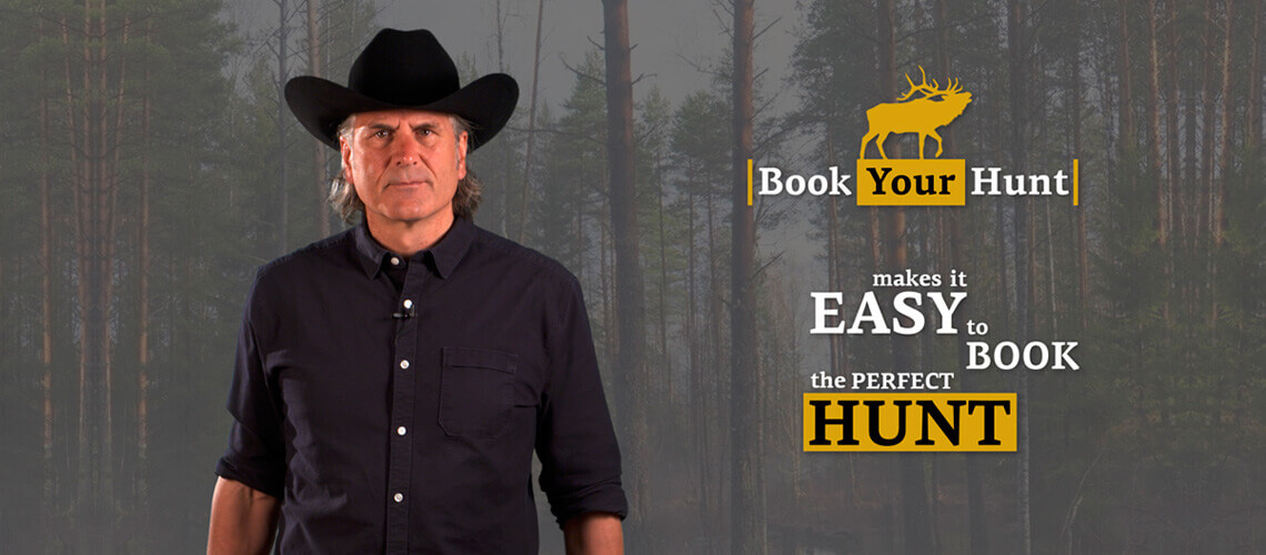 Jim Shockey about BookYourHunt