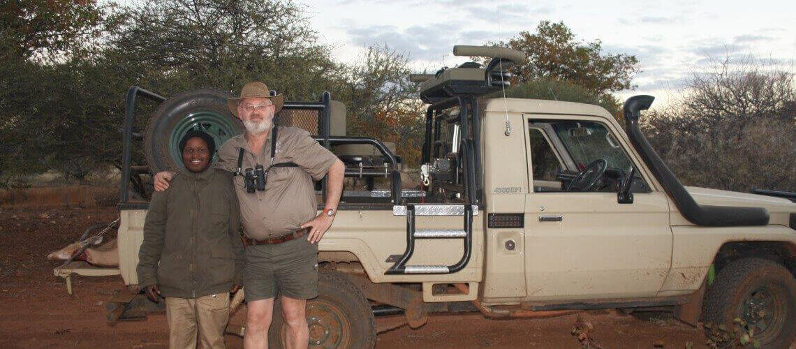 Ben Heystek Safaris, South Africa