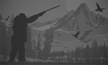 Hunting in Canada: Magnificent scenery